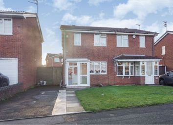 2 bed semi-detached house for sale in Hawkswell Drive, Willenhall WV13