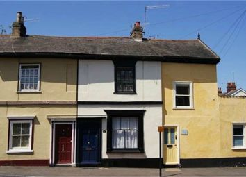 Thumbnail 2 bedroom terraced house for sale in Cannon Street, Bury St Edmunds, Suffolk