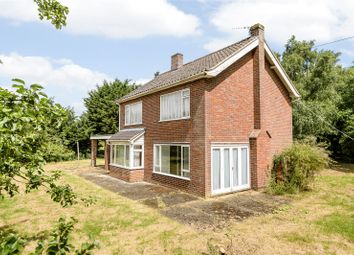 Thumbnail 3 bed detached house for sale in Alburgh Road, Hempnall, Norwich, Norfolk