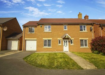Thumbnail 5 bed detached house for sale in Dukesfield, Earsdon View, Shiremoor