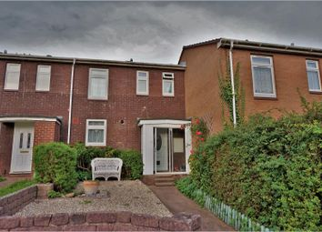 Thumbnail 3 bed terraced house for sale in Badon Close, Exeter