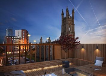 Thumbnail 1 bed flat to rent in Arundel St, The Roof Gardens, Castlefield