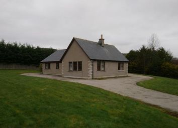 Thumbnail 3 bedroom detached house to rent in Sunnybank, Glenkindie, Alford