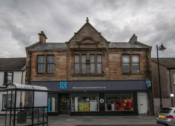 Thumbnail 1 bedroom flat for sale in 31 Main Street, Clackmannan, Clackmannanshire 4Ja, UK