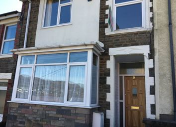 Thumbnail 5 bed terraced house to rent in Room 4, 21 Stow Hill, Treforest, Pontypridd