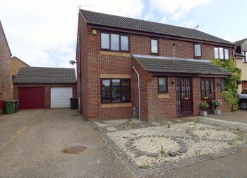 Thumbnail 3 bed semi-detached house for sale in Marjoram Road, Bradwell, Great Yarmouth