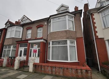Thumbnail 4 bed semi-detached house for sale in Harvey Road, Wallasey