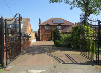 Thumbnail 5 bed detached house for sale in Central Wall Road, Canvey Island