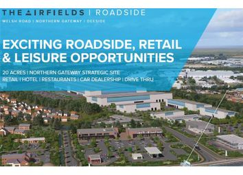Thumbnail Land for sale in The Airfields, Roadside, Northern Gateway, Deeside