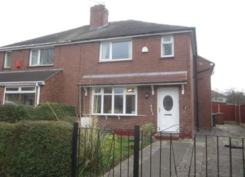 Thumbnail 2 bed semi-detached house for sale in Mossford Avenue, Crewe