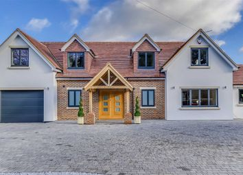 Thumbnail 4 bed detached house for sale in Epping Green, Hertford