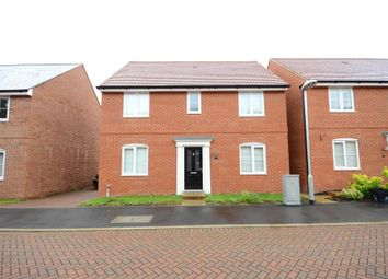 Thumbnail 4 bedroom detached house for sale in Roe Gardens, Three Mile Cross, Reading