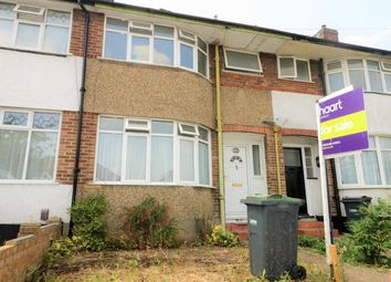 Thumbnail 3 bed terraced house to rent in Somerset Avenue, Luton