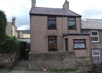 Thumbnail 3 bed end terrace house for sale in Thomas Street, Llanberis, Caernarfon