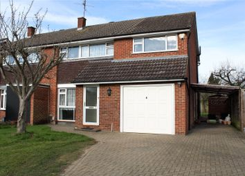 Thumbnail 4 bedroom semi-detached house for sale in Renault Road, Woodley, Reading, Berkshire