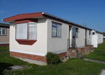 Thumbnail 2 bed mobile/park home for sale in Meadowview Park, Little Clacton