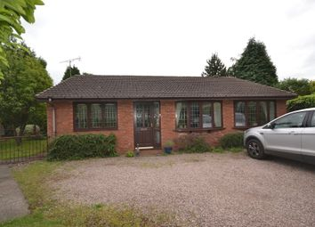 Thumbnail 2 bed detached bungalow for sale in Liverpool Road, Newcastle-Under-Lyme