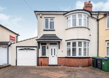 Thumbnail 3 bed semi-detached house for sale in Willett Road, West Bromwich