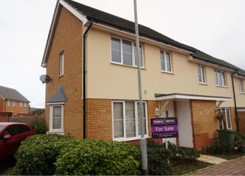 Thumbnail 2 bed semi-detached house for sale in St. Wilfred Drive, East Cowes