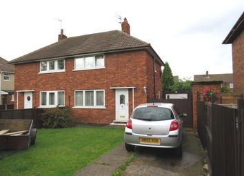 Thumbnail 2 bed semi-detached house for sale in West Avenue, Stainforth, Doncaster, South Yorkshire