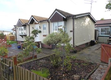Thumbnail 2 bed mobile/park home for sale in Willow Park, Gladstone Way, Mancote, Deeside, North Wales