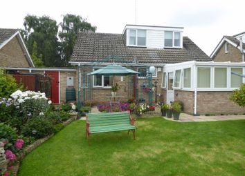 Thumbnail 3 bed detached bungalow for sale in Parkway Close, Nassington, Peterborough