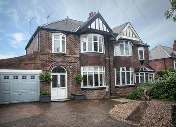 Thumbnail 4 bed semi-detached house for sale in Thundercliffe, 43 East Bawtry Road, Rotherham