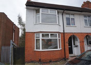 Thumbnail 3 bed end terrace house for sale in Stanhope Road, Kingsthorpe, Northampton