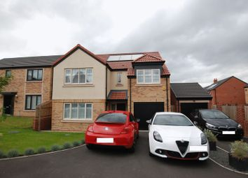 Thumbnail 4 bedroom detached house for sale in Brambling Place, Wideopen, Newcastle Upon Tyne