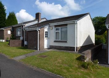 Thumbnail 2 bed semi-detached bungalow to rent in Brynderi, Pontyates, Llanelli