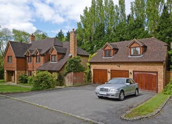 Thumbnail 5 bed detached house to rent in Highfield Close, Oxshott
