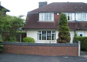 Thumbnail 3 bed semi-detached house to rent in Pitfield Gardens, Wythenshawe, Manchester