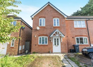 Thumbnail 2 bed end terrace house for sale in Coppenhall Grove, Kitts Green, Birmingham