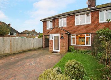 Thumbnail 4 bed semi-detached house to rent in Strawlands, Plumpton Green, Lewes