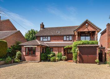 Thumbnail 4 bedroom detached house for sale in Bartons Lane, Old Basing, Basingstoke