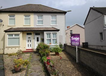 Thumbnail 2 bed semi-detached house for sale in Park Place, Risca, Newport