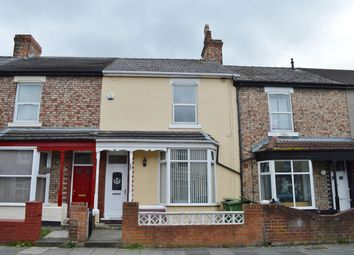 Thumbnail 3 bedroom terraced house for sale in Grange Road, Thornaby, Stockton-On-Tees