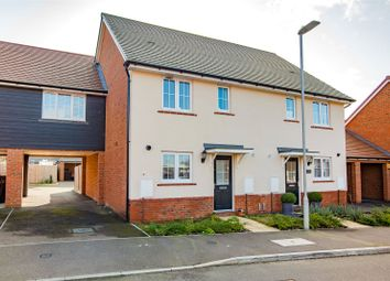 Thumbnail 3 bed semi-detached house for sale in Southfields Way, Harrietsham, Maidstone, Kent