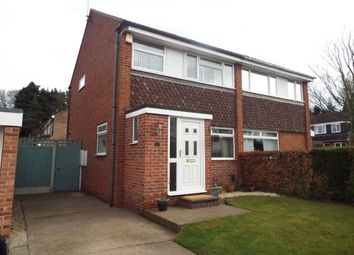 Thumbnail 3 bed semi-detached house for sale in Wheatley Drive, Carlton, Nottingham, Nottinghamshire
