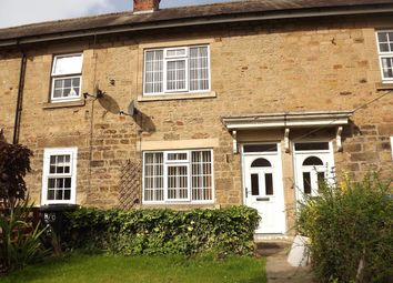 Thumbnail 1 bed terraced house to rent in Horsley Buildings, Morpeth