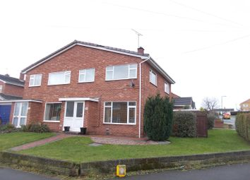 Thumbnail 3 bed semi-detached house for sale in Boscobel Drive, Shrewsbury
