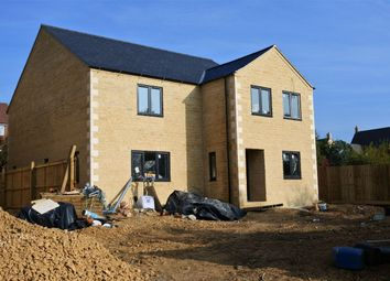 Thumbnail 4 bed detached house for sale in Wood Road, Kings Cliffe, Peterborough