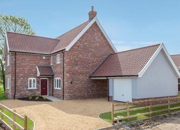Thumbnail 4 bed detached house for sale in Attleborough Road, Caston, Attleborough