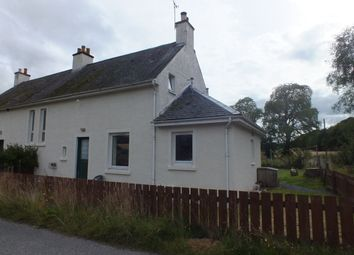 Thumbnail 3 bed semi-detached house to rent in Scaniport, Inverness