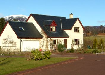 Thumbnail 4 bed detached house for sale in Macbean Road, Kincraig