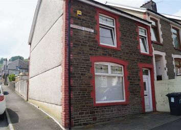 Thumbnail 3 bed end terrace house for sale in Ceridwen Street, Mountain Ash