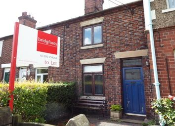 Thumbnail 2 bed cottage to rent in Dunns Cottages Butterton Lane, Crewe