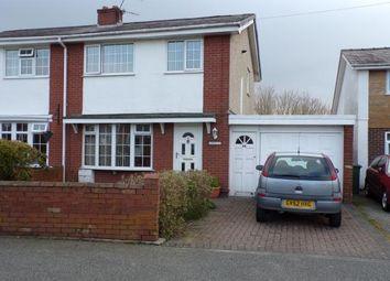 Thumbnail 3 bed semi-detached house for sale in Tyddyn Llwydyn, Hendre Park, Caernarfon