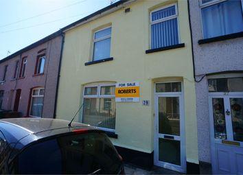 Thumbnail 3 bed terraced house for sale in Trafalgar Street, Risca, Newport