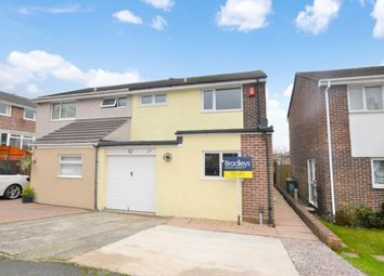 Thumbnail 3 bed semi-detached house to rent in Edwards Drive, Plymouth, Devon